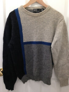 100 % wool Men's sweater