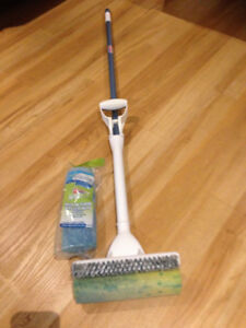 Quickie Home-Pro Mop and Scrub Roller Mop