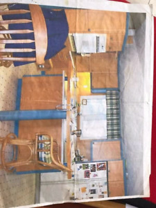 Kitchen and countertops and other miscellaneous items for sale