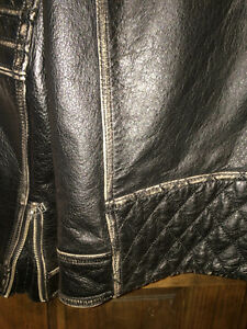 AFFLICTION LEATHER JACKET XL Gatineau Ottawa / Gatineau Area image 9