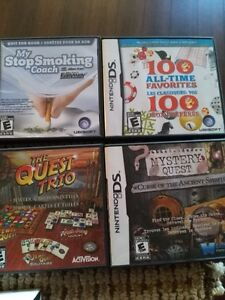 Nintendo DS with 8 games