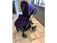 Silver Cross Pioneer Pram and Carry cot and Car seat