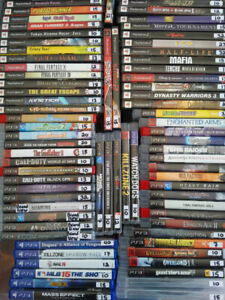 Playstation PS3 games. Also PS1 PS2 PS3 PS4 etc UPDATE Mar 18/19