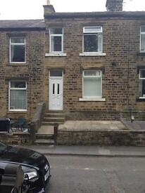Crosland moor 2 bed £425.00 per calendar month. A bond will be required.