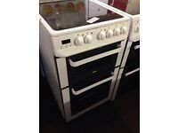🇬🇧ZANUSSI 50CM FAN ASSISTED DOUBLE OVEN ELECTRIC COOKER07🇬🇧