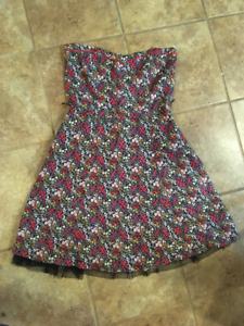 Jane Norman Floral Dress -used