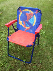 SPIDERMAN kids folding chair