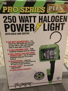250 WATT HALOGEN POWER LIGHT