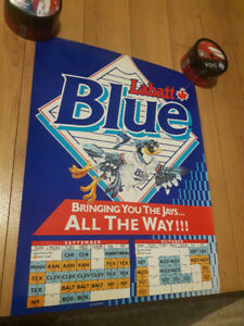 Blue Jays 1992 September/October Calendar