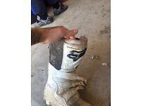 Fox comp 5 moto X boots uk 11