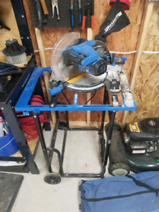 "10"" mitre saw and stand"