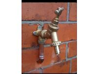 Outside tap supplied & fitted