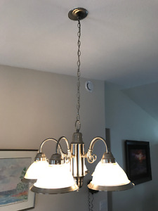 Used Chrome Chandelier