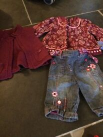 Baby Girls Clothing Bundle 0-12 months