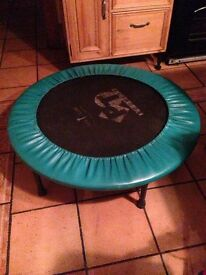 Exercise trampoline/bouncer