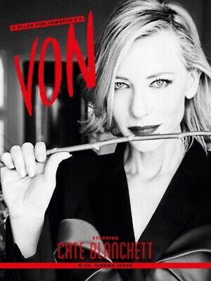 ELLEN VON UNWERTH's VON Magazine #2 CATE BLANCHETT Incl MILEY CYRUS Print NEW
