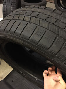 Winter Tires for Mercedes GL (Pirelli) West Island Greater Montréal image 1