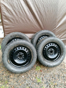 Snow tires with rims for sale