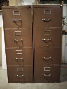 Vertical File Cabinets - $50