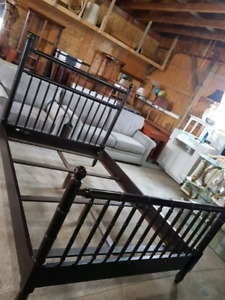 beautiful queen size Bombay bed frame