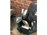 Peter alliss and golf master golf clubs full set