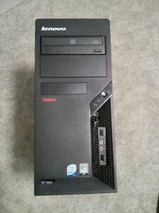Intel Dual Core E8400 3.00 Ghz 4 GB Ram 320GB Lenovo Tower