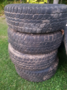 245/75R16 Wintercat tires and rims