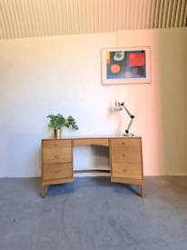 Mid Century Oak Desk by Stag