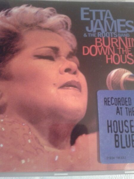 Etta James - Burnin' Down the House: Live at the House of Blues, cd