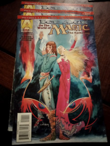 Magic the Gathering Comic Book x 3