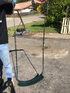 Swing and Slide Swing seat
