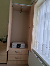 Wardrobe with built In SAFE