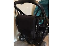 Oyster buggy and maxi cosy car seat