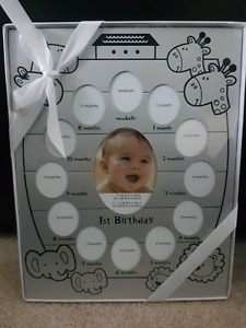 New 1st Birthday Picture Frame