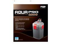 1800l/h External filter power canister aquarium fish tank filter