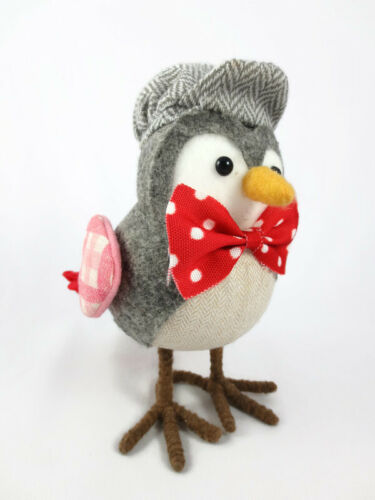 Fabric Valentines Day Bird Figurine Walmart or Target ? Featherly Friends