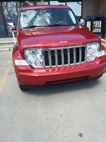2008 Jeep Liberty - with winter tires and excellent car starter