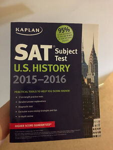 BRAND NEW SAT SUBJECT TEST US HISTORY KAPLAN FOR SALE