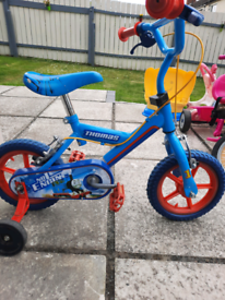 Thomas tank childs bike