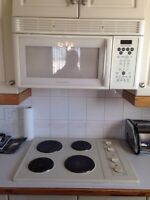 """30"""" Stovetop and over range microwave"""