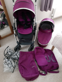 Oyster 2 pram/stroller with carry cot
