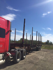 1994 ATCO TRIDEM LOG TRAILER Cash/ trade/ lease to own terms.