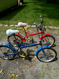 Holland Marine collapsible bikes