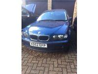 BMW 318i E46 2002 Blue