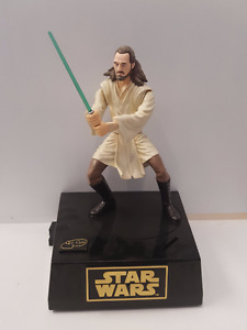 Star Wars Thinking Toys Qui-Gon Jinn Interactive Talking Bank