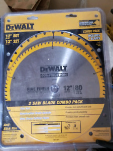 Dewalt chop saw 12in blades