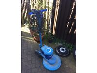 Floor polisher / buffing machine