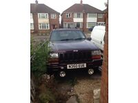 Jeep Grand Cherokee limited breaking