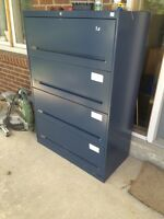 3 large filing cabinets