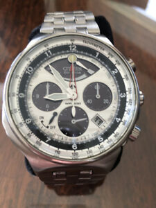 Men's Citizen Eco-Drive Chronograph Watch
